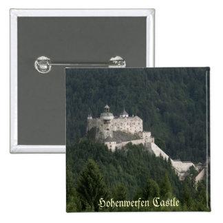 Castillo de Hohenwerfen Pin Cuadrado