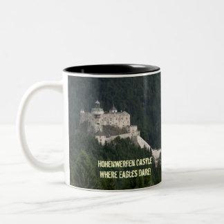 Castillo de Hohenwerfen Taza De Dos Tonos