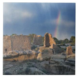 Castillo de Hovenweep, monumento nacional de Hoven Azulejo Cuadrado Grande