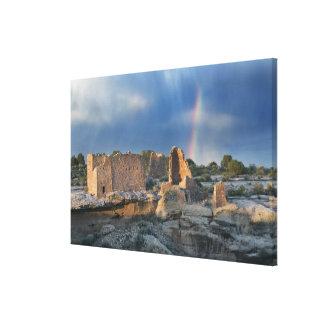 Castillo de Hovenweep, monumento nacional de Hoven Impresion De Lienzo