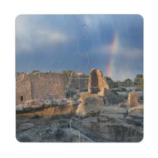 Castillo de Hovenweep, monumento nacional de Hoven Posavasos De Puzzle