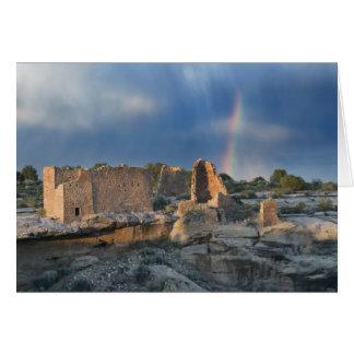 Castillo de Hovenweep, monumento nacional de Hoven Tarjeta De Felicitación