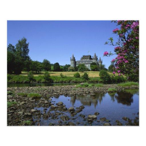 Castillo de Inverary, Strathclyde, Escocia Fotografías