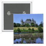 Castillo de Inverary, Strathclyde, Escocia Pin Cuadrada 5 Cm