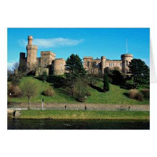 Castillo de Inverness, Escocia Tarjeta De Felicitación