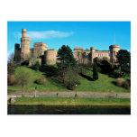 Castillo de Inverness, Escocia Tarjeta Postal