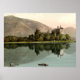Castillo de Kilchurn, Argyll y Bute, impresión arc Posters