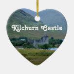 Castillo de Kilchurn Ornamento Para Arbol De Navidad