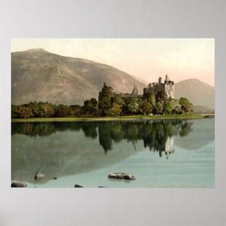 Castillo de Kilchurn, temor del lago, Argyll y But Poster