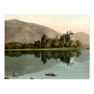 Castillo de Kilchurn, temor del lago, Argyll y Postal