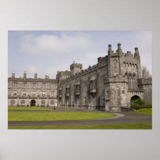 Castillo de Kilkenny condado Kilkenny Irlanda Poster