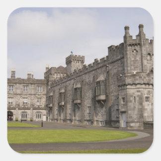 Castillo de Kilkenny condado Kilkenny Irlanda Calcomanía Cuadradase