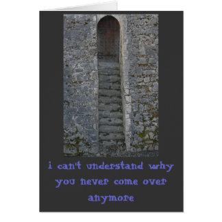 Castillo de Kilkenny no puedo entender… Felicitación