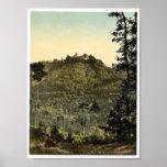 Castillo de Kyburg, vintage Photoch de Zurich, Sui Posters