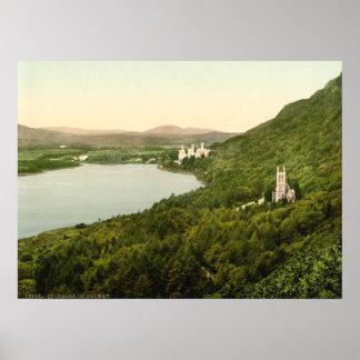 Castillo de Kylemore Póster