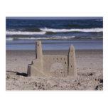 castillo de la arena, ciudad del océano postal