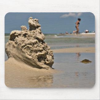 Castillo de la arena de la Costa del Golfo Alfombrilla De Raton