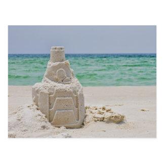 Castillo de la arena de la Florida Postal