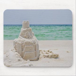 Castillo de la arena de la Florida Tapetes De Raton