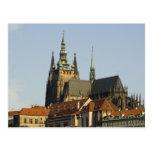 Castillo de la catedral y de Praga del St. Vitus, Postal