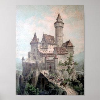 Castillo de la fantasía póster