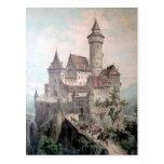 Castillo de la fantasía tarjeta postal