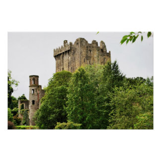 Castillo de la lisonja, Irlanda Póster