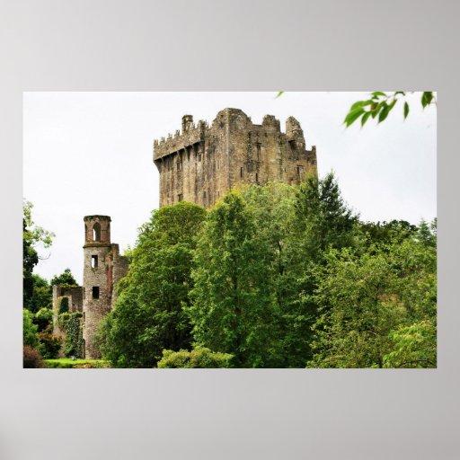 Castillo de la lisonja, Irlanda Posters