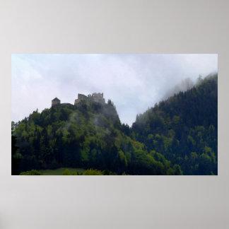 Castillo de la nube posters
