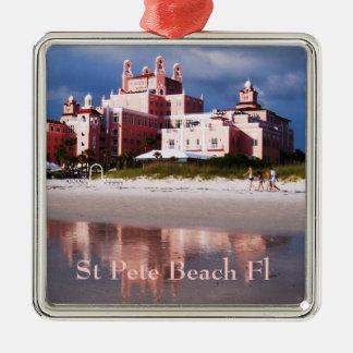 Castillo de la playa del St Pete Adornos