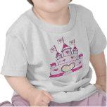 Castillo de la princesa camisetas