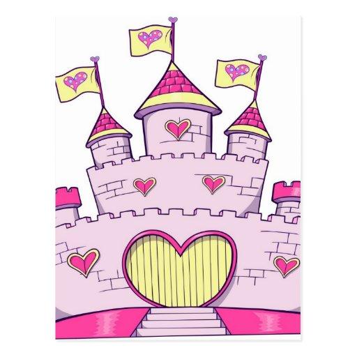 Castillo de la princesa postales
