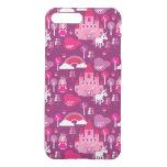 castillo de la princesa y arco iris del unicornio fundas para iPhone 7 plus