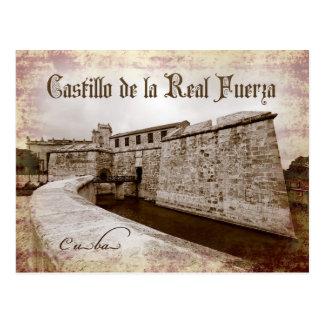 Castillo de la Real Fuerza, La Habana, Cuba Postal
