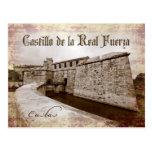 Castillo de la Real Fuerza, La Habana, Cuba Tarjetas Postales