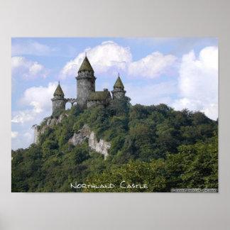 Castillo de la tierra del norte posters