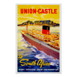 Castillo de la unión a Suráfrica Poster