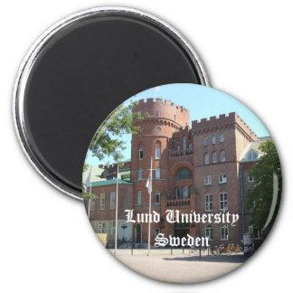 Castillo de la universidad de Lund Imán Redondo 5 Cm