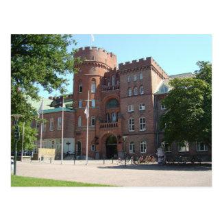 Castillo de la universidad de Lund Tarjeta Postal