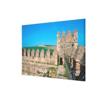 Castillo de Las Aguzaderas es un castillo con a Lienzo Envuelto Para Galerías