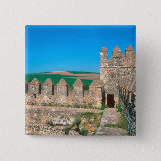 Castillo de Las Aguzaderas is a castle with a Pinback Button