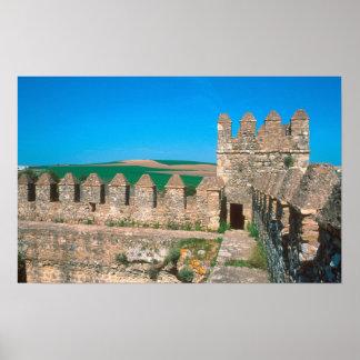 Castillo de Las Aguzaderas is a castle with a Poster