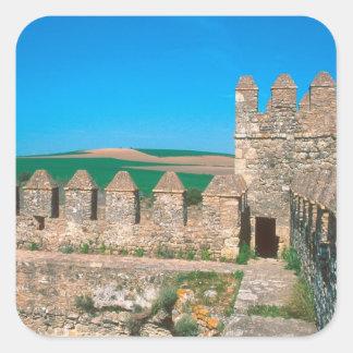 Castillo de Las Aguzaderas is a castle with a Square Sticker