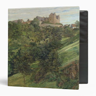 "Castillo de Lichtenberg en Odenwald, 1900 Carpeta 1 1/2"""