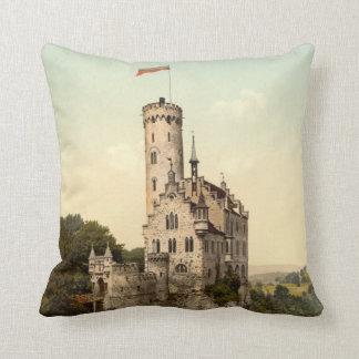 Castillo de Lichtenstein Cojín Decorativo