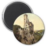 Castillo de Lichtenstein, Wurtemburg, magnifice de Iman Para Frigorífico