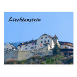 Castillo de Liechtenstein - postal