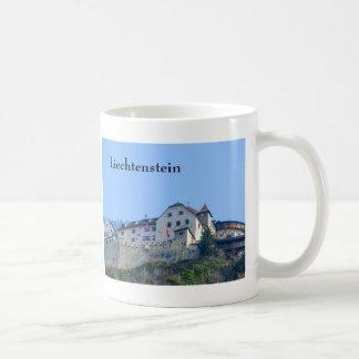 Castillo de Liechtenstein - taza del recuerdo