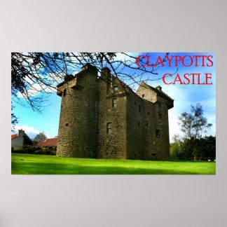 castillo de los claypotts impresiones