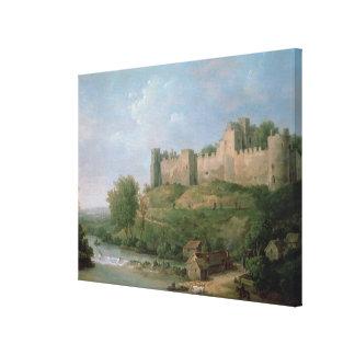 Castillo de Ludlow Lienzo Envuelto Para Galerias